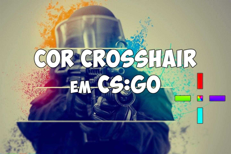 Cor personalizada do seu crosshair em CS:GO