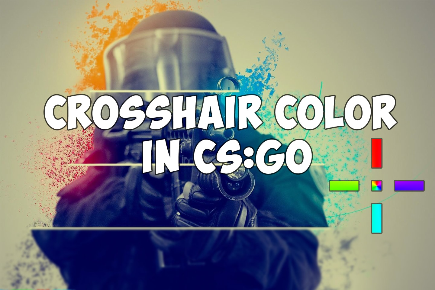 Custom color of your crosshair in CS:GO