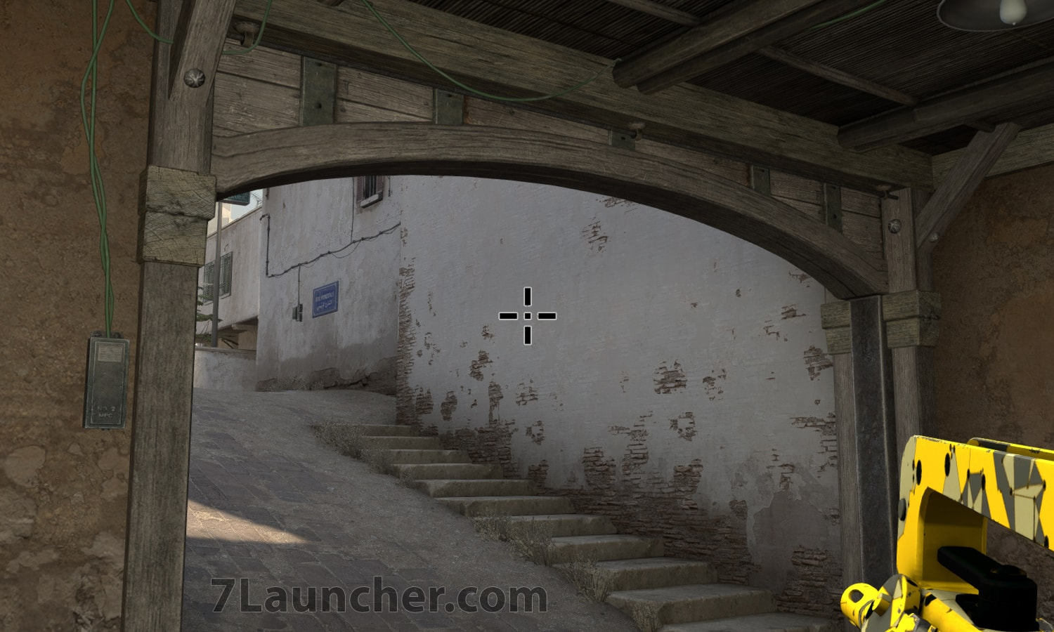 The black crosshair in CS:GO
