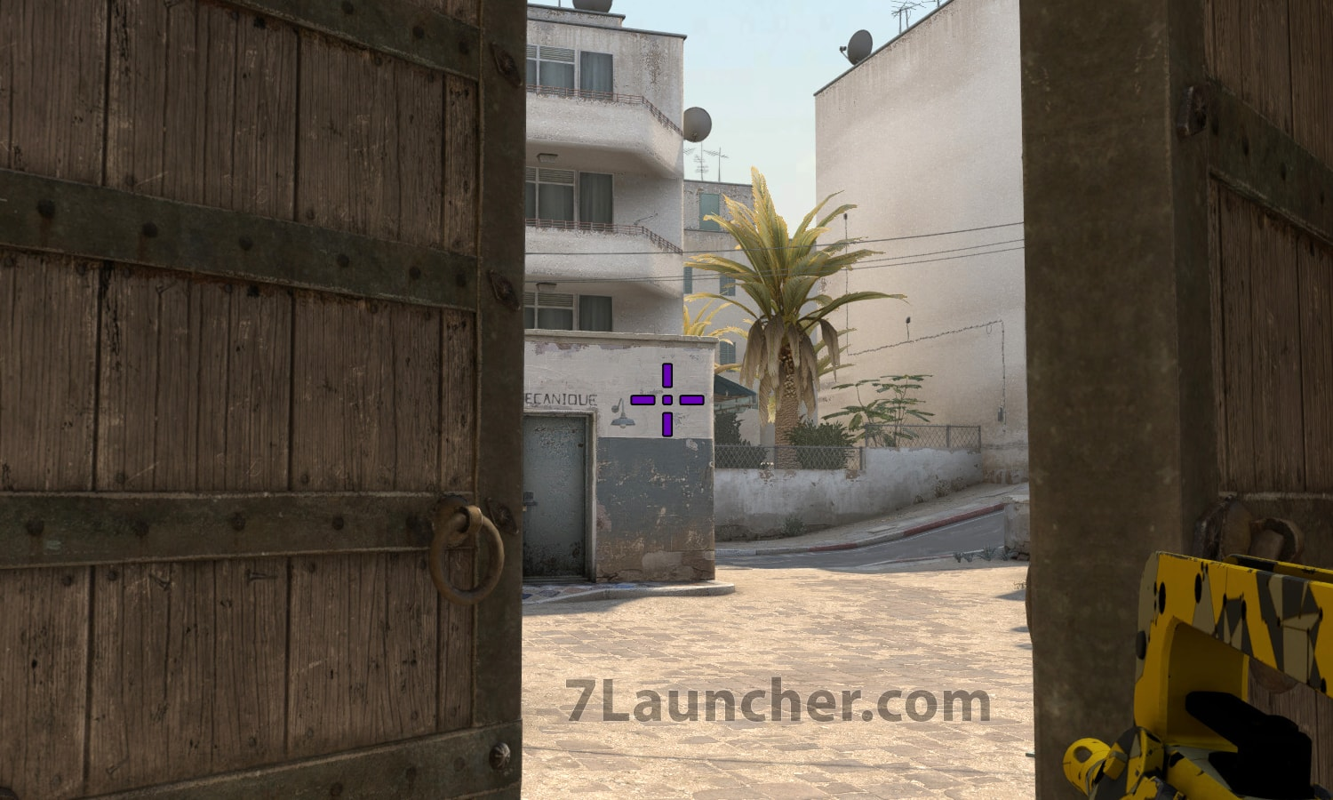 Purple crosshair in CS:GO