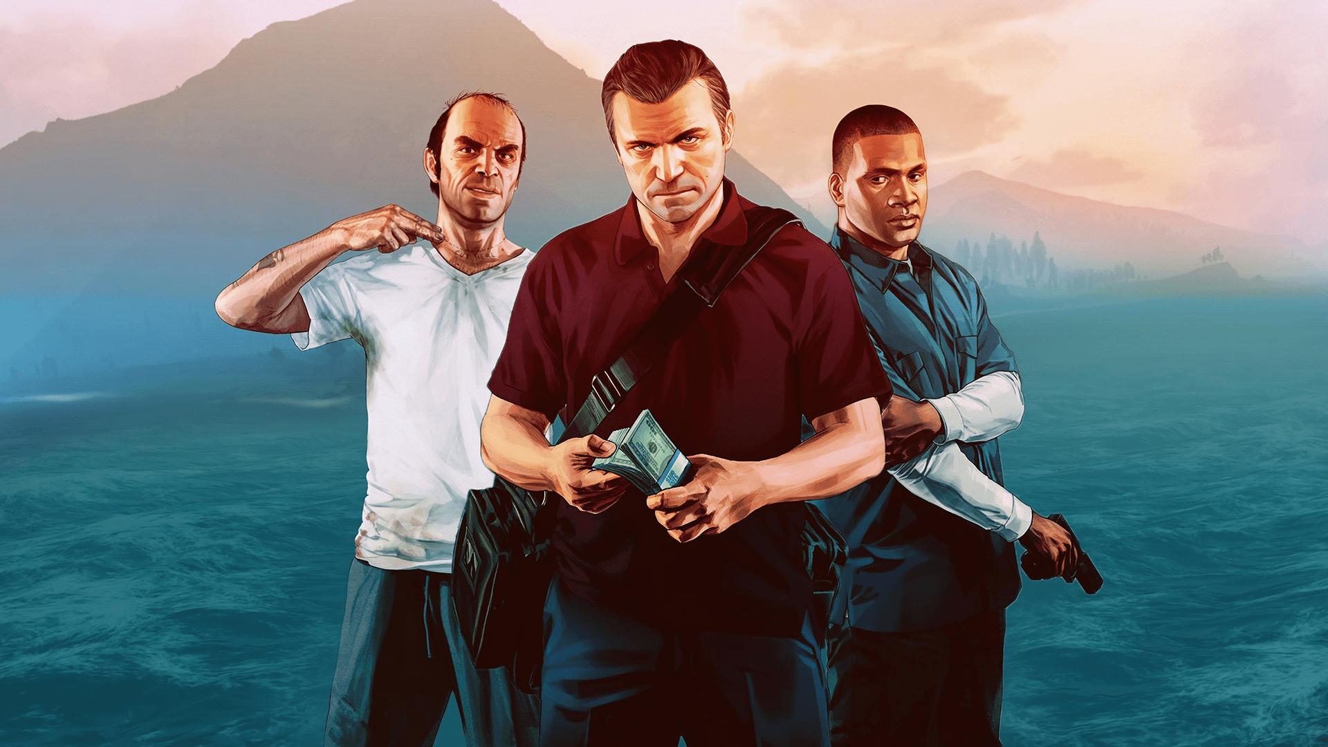Тревор Франклин и Майкл в GTA V