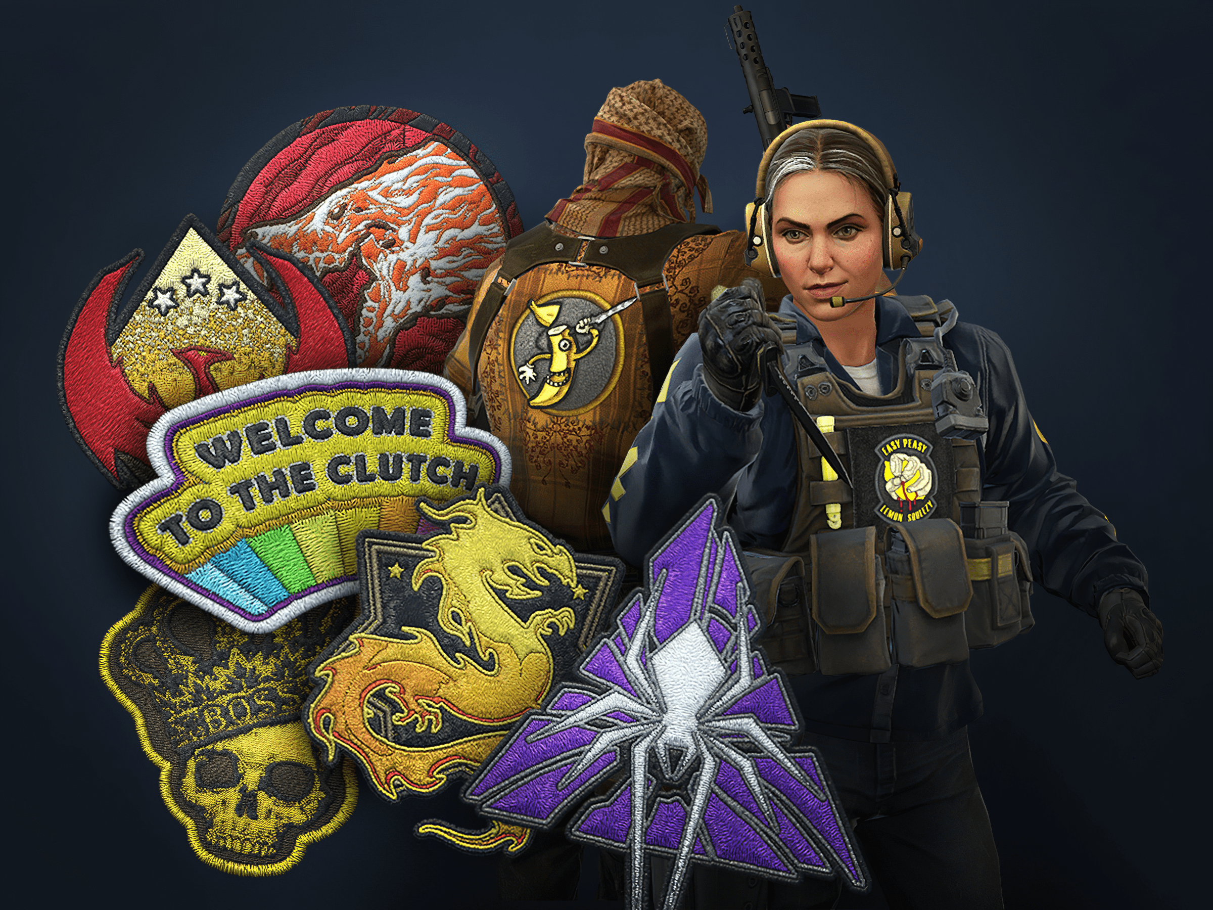 Patches for Agents
